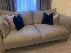 3 Seater Sofa Set, 1 Seater Chair & 1 footstool