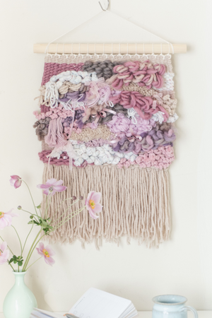 Hanging Forest - Hand Woven Wall Hanging