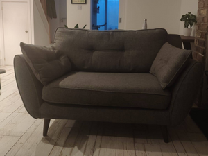 French Connection Zinc Cuddler Armchair from DFS